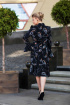 Платье,  Пояс Euromoda 311 черный
