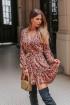 Платье Mirolia 841 цветочный_принт