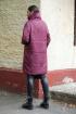 Пальто DOGGI 6280 бордо