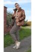 Куртка Arisha 8081 антично-бронзовый
