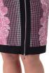 Платье Anelli 149  розовый-гусиная_лапка