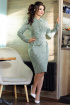 Платье Мода Юрс 2496 зеленый