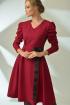 Платье MAX 4-017 красный