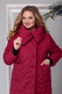 Куртка Michel chic 351 красно-бордовый