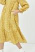 Платье Ertanno 2047 медово-горчичный