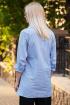 Рубашка Achosa 2909 полоска голубая