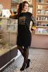 Платье Мода Юрс 2610 черный_леопард