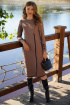 Платье Prestige 3962/164 бежево-черный
