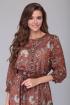 Платье Verita 1254.2 коричневый