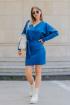 Платье Mirolia 833 василёк