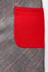Платье La rouge 5214 клетка
