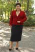 Блуза,  Жакет,  Юбка Classic Moda 566 красный
