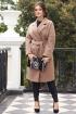 Пальто Мода Юрс 2615 бежевый