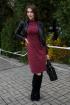 Платье Madech 205366 винный