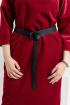 Платье,  Пояс YFS 5101 бордовый