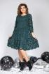 Платье Милора-стиль 827 зеленый