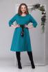 Платье Michel chic 2025 тёмно-голубой
