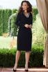 Платье Teffi Style L-1535 черный
