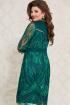Платье Vittoria Queen 11833/1 зеленый