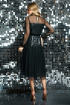 Платье DiLiaFashion 0417 черный