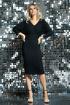 Платье DiLiaFashion 0421 черный