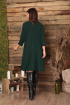 Платье, Шарф Anastasia 495 зеленый