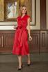 Платье Bazalini 3692 красный