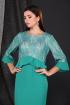 Платье Faufilure С873 зеленый