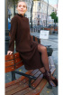Платье Ivera 840 коричневый