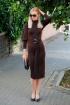 Платье Achosa 2239 коричневый