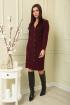 Платье SandyNa 13881 винный
