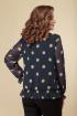 Блуза DaLi 2528 крупный_горох