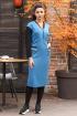 Платье Мода Юрс 2614 голубой-черный