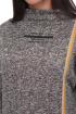 Платье Karina deLux B-369 бежево-черный