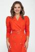 Платье Dilana VIP 1620/1 морковный
