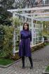 Платье KRASA 154-20 фиолетовый