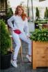 Брюки,  Свитшот Avenue Fashion 501 молоко