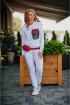 Брюки,  Свитшот Avenue Fashion 502 молоко