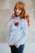 Блуза Avenue Fashion 301 голубой