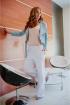 Брюки Avenue Fashion 202 белый