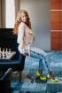 Брюки Avenue Fashion 203 голубой