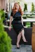 Платье Avenue Fashion 102 черный