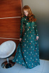 Платье Avenue Fashion 104 изумруд