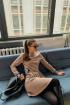 Платье Rawwwr clothing 009 пудра