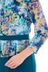 Платье, Брошь Almila-Lux 1016 зеленый