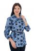 Блуза Almila-Lux 1063 синий