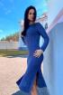 Платье Romgil ТЗ173 темно-синий