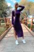Платье Romgil ТЗ173 фиолетовый