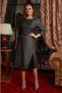 Платье Lissana 4168 серый