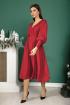 Платье SandyNa 13892 винный